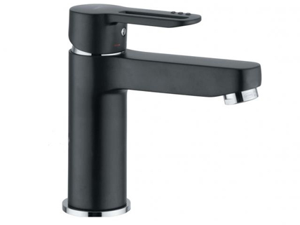 Matt black chrome tapware